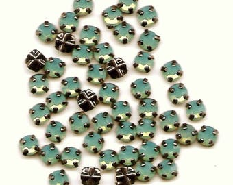 Special order for Lori 27 pacific opal montees 4mm