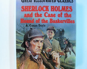 1st Ed. thus/1st Prt. SHERLOCK HOLMES and The Case of the Hound of the Baskervilles by A. Conan Doyle - Like New 1977 Hardcover