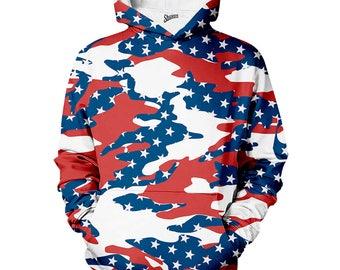 USA Camo Patriot Hoodie