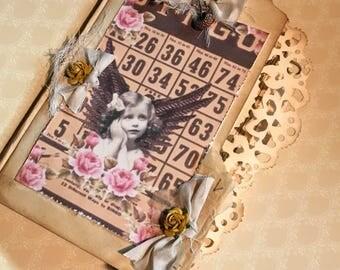 File folder vintage journal