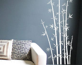 Bamboo Wall Decals Art Sticker Mural Home Decor