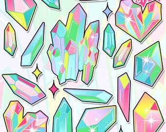 Rainbow Crystals 4.0 Sticker Pack