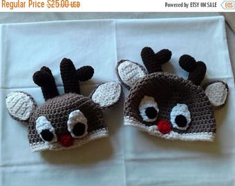 Clearance Rudolph the Reindeer Hat