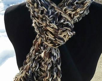 Infinity Scarf, infinity Scarf, Grey Scarf, Tan, circle Scarf, Long infinity scarf, Scarf, Beige, Black, Grey, knit scarf, Chunky Scarf