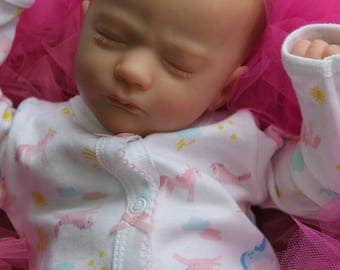 Gorgeous Reborn baby from the Realborn Ashley preemie sculpt 17'' ready to ship
