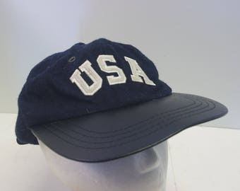 90s USA hat cap low profile dad hat