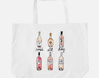 Rose all day tote | Etsy