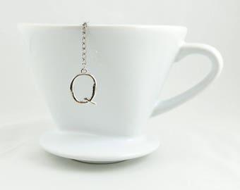 """Letter """"Q"""" Loose Tea Infuser Tea Strainer Mesh Loose Leaf Tea"""