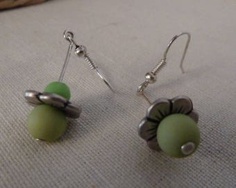 """So Cute"" earrings Green"