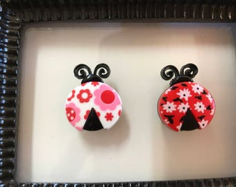 Cute as a Lady Bug Needle Minder