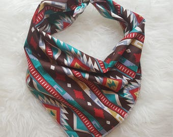 Fall Aztec Dog Bandana