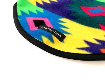 Retro Southwestern // Aztec Inspired Dog Sleeveless Sweater With Optional Mesh Lining, Pawtagonia