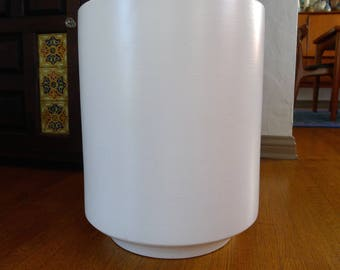 Tall White Gainey Laverne Architectural Pottery Planter, Size C-14/17