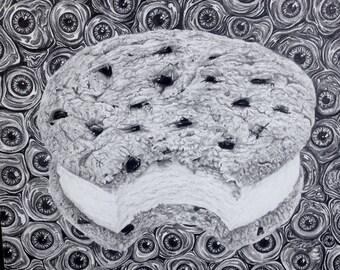 Eyes-Cream Sandwich Cookie