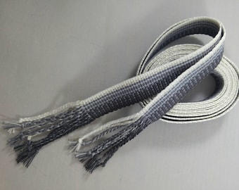 "Inkle weaving ribbon, strap, band, or trim - 7/8"" handwoven -  SCA, LARP, Viking, and Cosplay - Air"