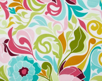 Halle Rose Floral in Teal by Lila Tueller