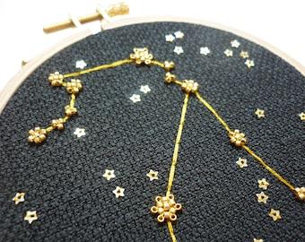 """Embroidery """"Aquarius"""""""