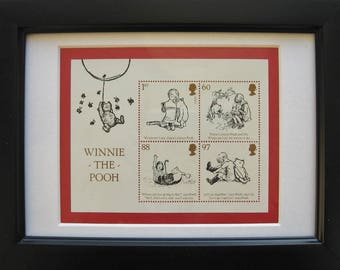 Winnie the Pooh framed stamps 2010
