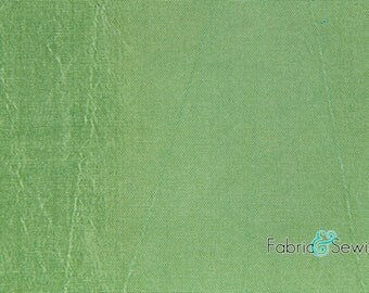 "Green Two-Toned Taffeta Lining Fabric Polyester 4.5 Oz 58-60"" 331193"