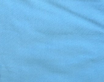 Fabric - Cotton/elastane rib fabric - 240gsm - Light blue