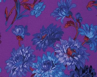 1/2 Yard Anne Marie in Purple by Philip Jacobs PJ074