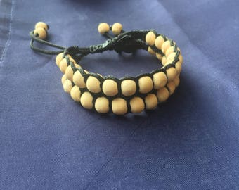 Ganga Power Tulasi Seed Bracelets, made with Love near the source of Ganga River -~