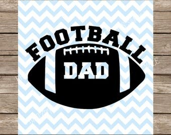 Football Dad svg, Football svg, Sports svg, svg, svg files, svg designs, svg files for cricut, svg silhouette, Football player cut file