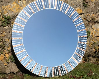 Sun Ray Mosaic Mirror