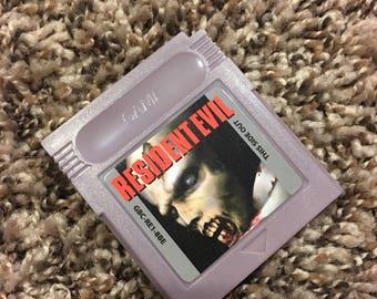 Gameboy Resident Evil - homebrew - fan made