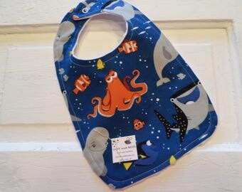 Adorable Dory and Friends Bib - FREE SHIPPING!!!