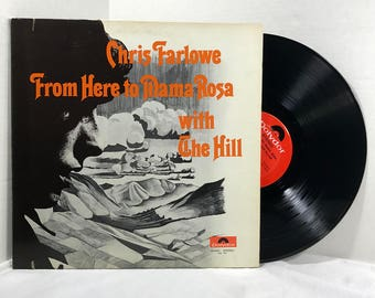 Chris Farlowe with The Hill vinyl record From Here To Mama Rosa 1970 Psychedelic Rock EX
