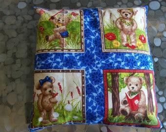 "Full cushion for child patterns ""Bear"""