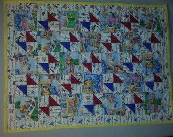 Corduroy Baby Quilt ( Also included are Corduroy books)