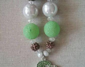 Girl Scouts Bubble Gum Bead Necklace