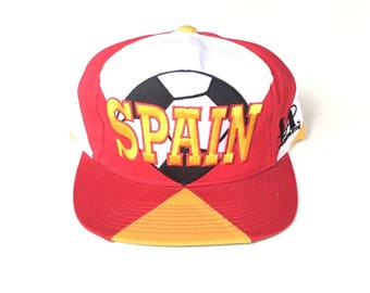 1994 SPAIN world cup soccer usa logo athletic Snapback Snap back Strapback hat One Size Adult Unisex twill