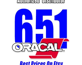 "12"" x 24"" / 1-sheet / Oracal 651 - Orafol - Outdoor Vinyl - Craft Vinyl - Decal Vinyl"