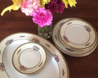 Antique Noritake Fine China made in Japan, Juanita pattern