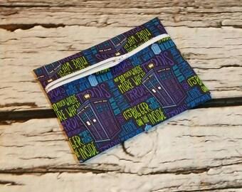 1 Eco Friendly Reusable Small Wet Bag, Snack Bag, Lunch Bag, Gift Bag, Swimming Bag, Diaper Bag