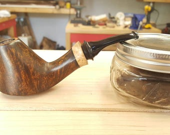 Handmade volcano tobacco pipe smoking pipe Davis Pipe