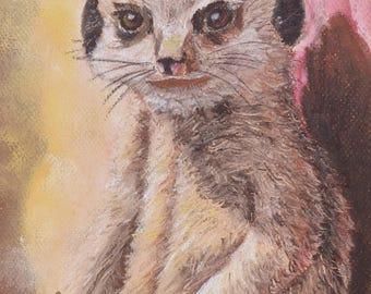 Meerkat Madness - Art Print