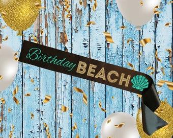 BLACK SASH Birthday Beach