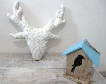 Deer head cushion