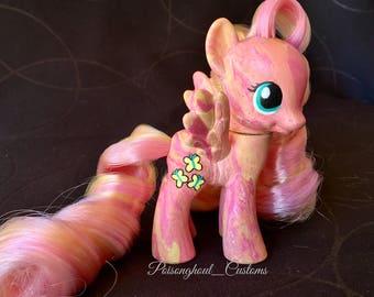 Custom My Little Pony OOAK Fluttershy mlp