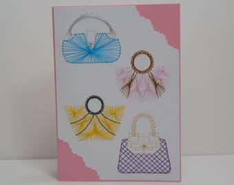Perfect Purses Greeting Card