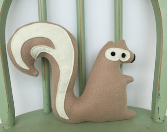Woodland Squirrel Softie Toy, Perfect for Nursery!