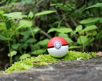 Pokeball Golf Ball