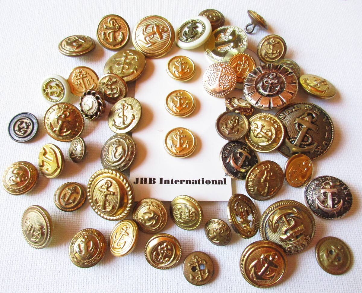 Bulk buttons for crafts -  14 00