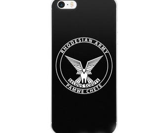 Selous Scouts Rhodesian Army iPhone Case