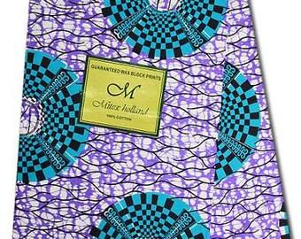 WHOLE 6 YARDS African Fabrics Mitex Holland Wax Prints /Fabrics For Dressmaking/ Sewing/Cotton Fabrics/Kitenge/Kikwembe/Pagnes