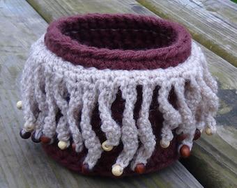 Crochet basket-crochet storage-basket-hand crochet basket-storage box-crocheted baskets-crochet box-basket storage-baskets-storage basket